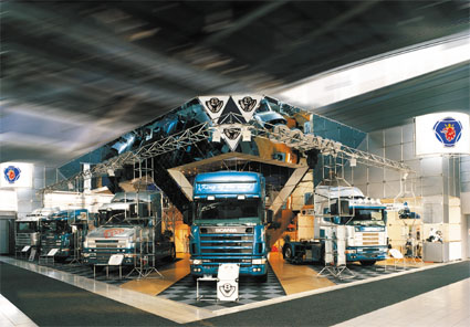 stand for scania trucks built in syma system